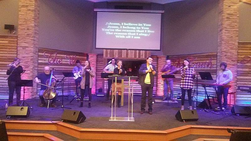 Ministry at Agape Bible Church, Portland, OR