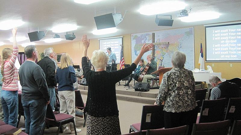 Ministry at Living Waters Fellowship, Tillamook, OR