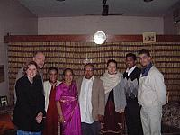 Group With the Pillai Family
