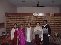 Paul Pillai with Family