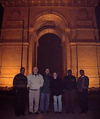 India Gate With Friends