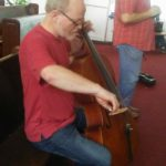 Cello in worship at Worship Conference in Lima, Peru